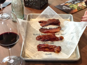 Priest Ranch Bacon Tasting