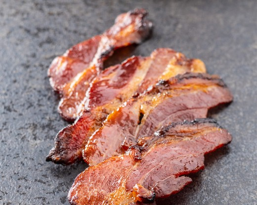 Citrus Candy Bacon